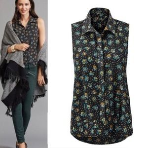 Cabi | Blouse Midnight Bouquet Whimsy Floral